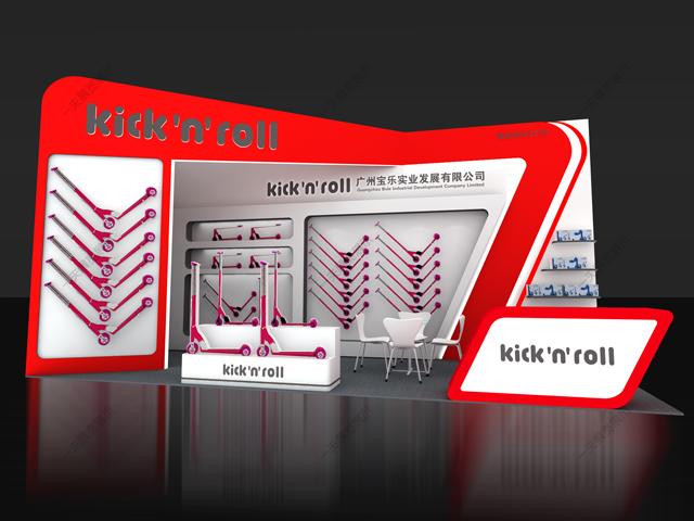 Kick'n'roll-海外展台